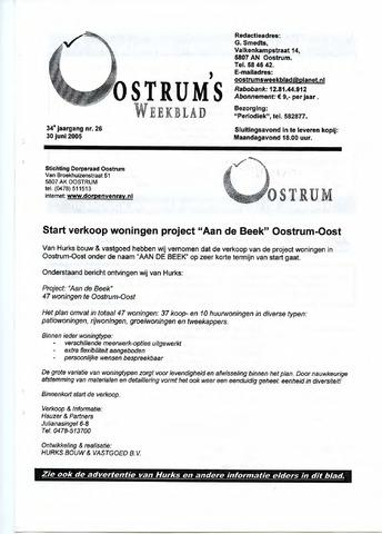 Oostrum's Weekblad 2005-06-30