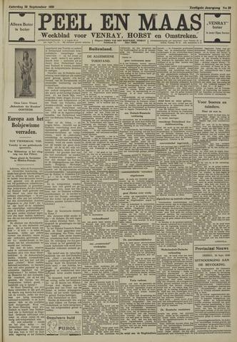 Peel en Maas 1939-09-30