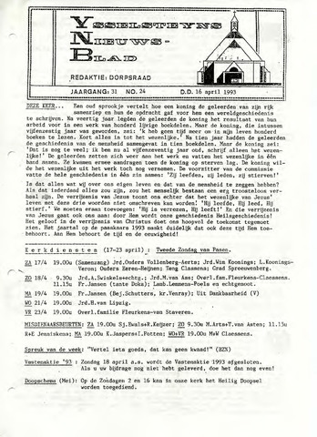 Ysselsteyns Nieuwsblad 1993-04-16