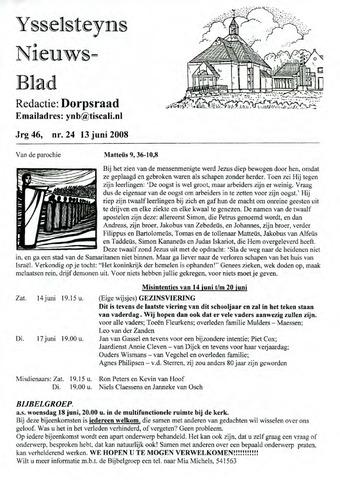 Ysselsteyns Nieuwsblad 2008-06-13