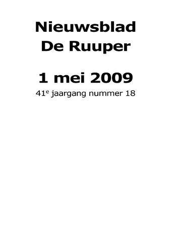 Dorpsblad Leunen-Veulen-Heide 2009-05-01