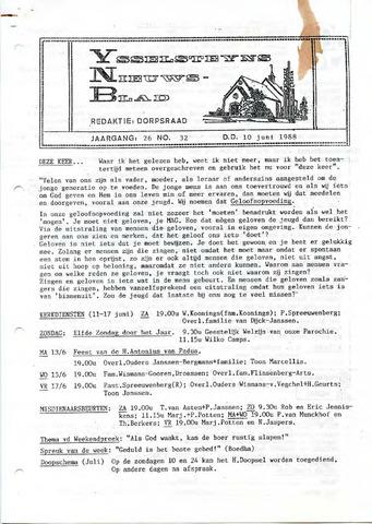 Ysselsteyns Nieuwsblad 1988-06-10