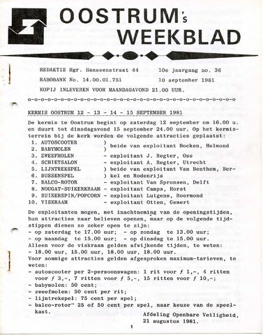 Oostrum's Weekblad 1981-09-10