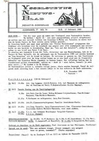 Ysselsteyns Nieuwsblad 1989-02-17