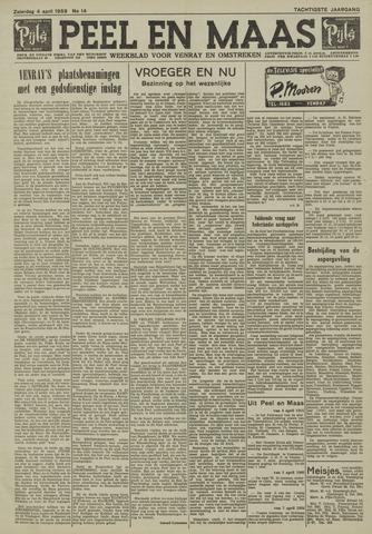 Peel en Maas 1959-04-04