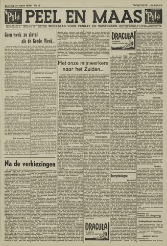Peel en Maas 1959-03-21