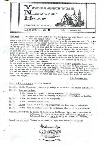 Ysselsteyns Nieuwsblad 1991-01-11