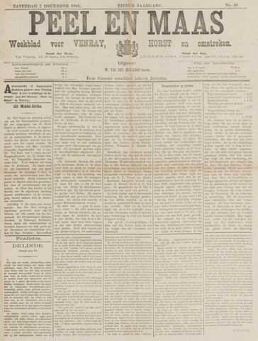 Peel en Maas 1889-12-07