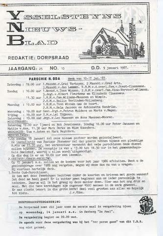 Ysselsteyns Nieuwsblad 1987