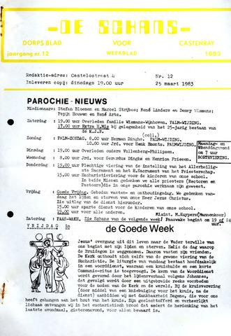 Castenrays dorpsblad De Schans 1983-03-25