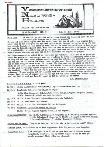 Ysselsteyns Nieuwsblad 1990-06-22