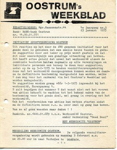 Oostrum's Weekblad 1975-01-23