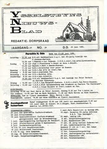 Ysselsteyns Nieuwsblad 1986-06-20