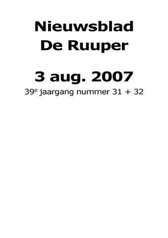 Dorpsblad Leunen-Veulen-Heide 2007-08-03