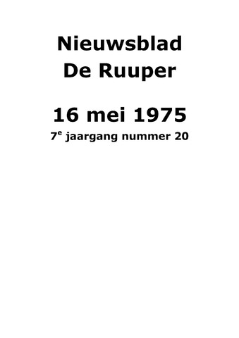 Dorpsblad Leunen-Veulen-Heide 1975-05-16