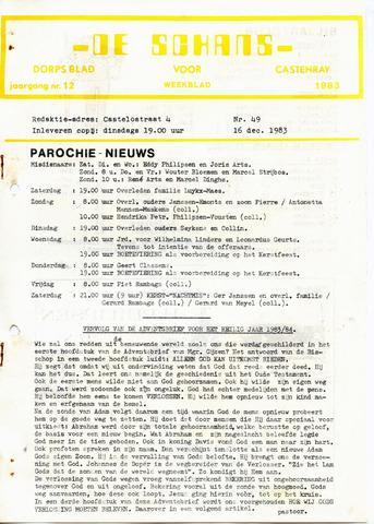 Castenrays dorpsblad De Schans 1983-12-16