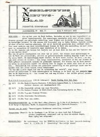 Ysselsteyns Nieuwsblad 1990-02-09