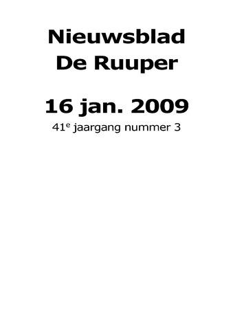 Dorpsblad Leunen-Veulen-Heide 2009-01-16
