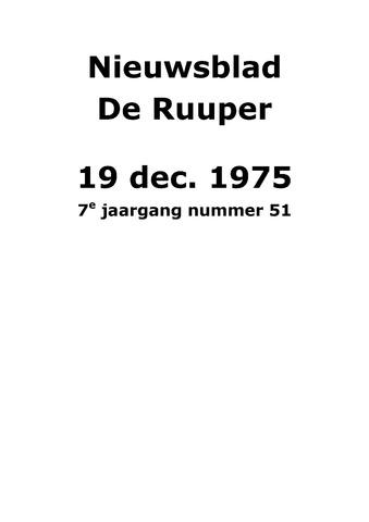 Dorpsblad Leunen-Veulen-Heide 1975-12-19