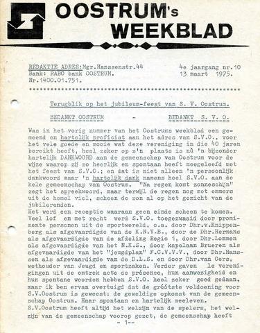 Oostrum's Weekblad 1975-03-13
