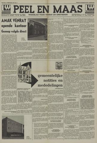Peel en Maas 1971-02-05