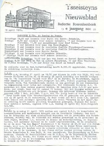 Ysselsteyns Nieuwsblad 1975-04-18