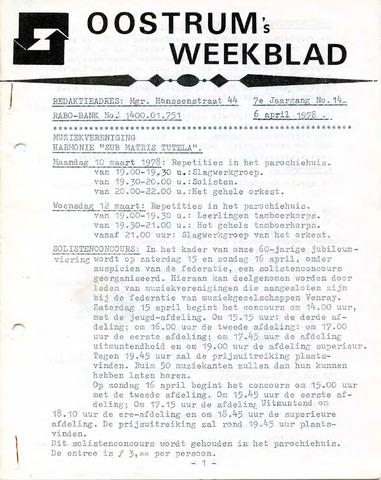 Oostrum's Weekblad 1978-04-06