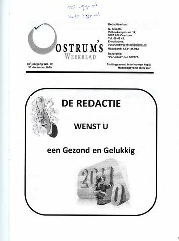 Oostrum's Weekblad 2010-12-30