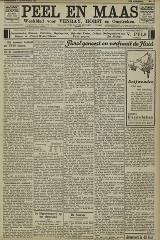 Peel en Maas 1927-11-05
