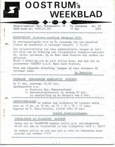 Oostrum's Weekblad 1979-05-17