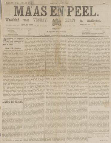 Peel en Maas 1889-01-05