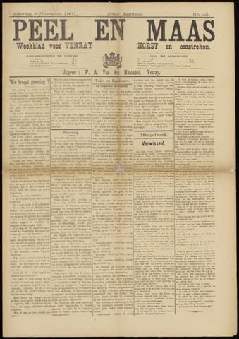 Peel en Maas 1907-11-09