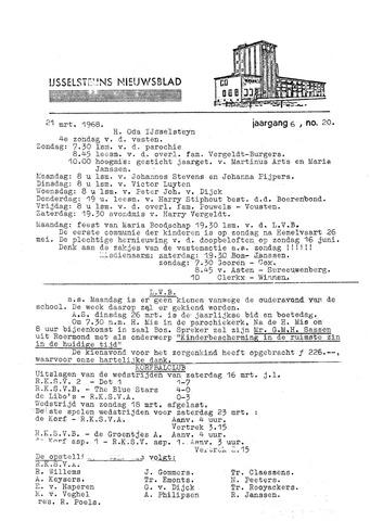 Ysselsteyns Nieuwsblad 1968-03-21