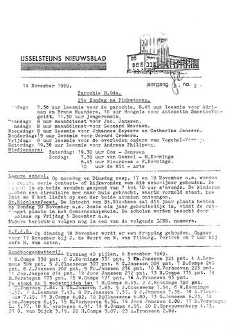 Ysselsteyns Nieuwsblad 1969-11-14