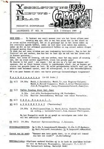 Ysselsteyns Nieuwsblad 1989-02-03