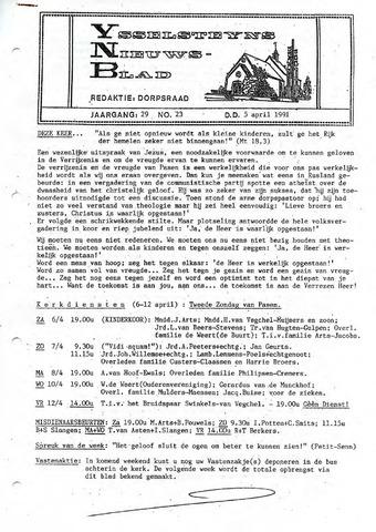Ysselsteyns Nieuwsblad 1991-04-05