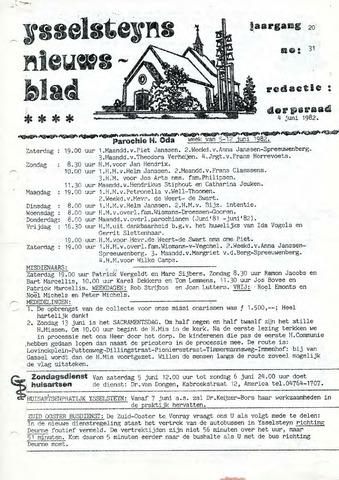 Ysselsteyns Nieuwsblad 1982-06-04