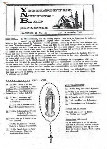 Ysselsteyns Nieuwsblad 1989-09-29