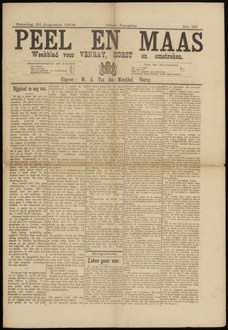 Peel en Maas 1908-08-29