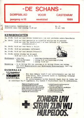 Castenrays dorpsblad De Schans 1989-05-26
