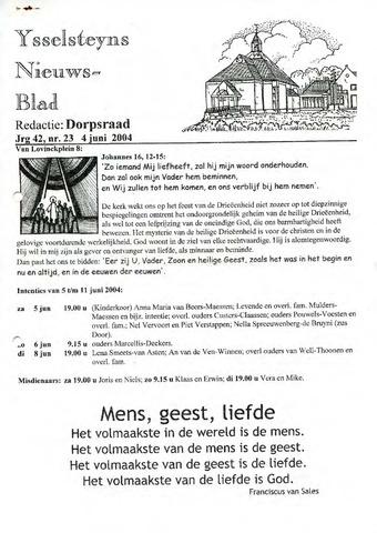 Ysselsteyns Nieuwsblad 2004-06-04