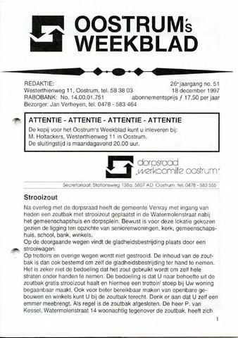 Oostrum's Weekblad 1997-12-18