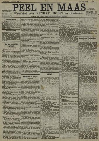 Peel en Maas 1919