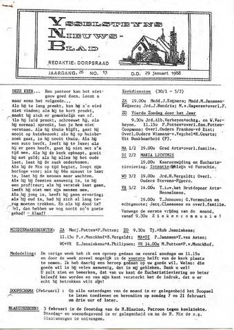 Ysselsteyns Nieuwsblad 1988-01-29