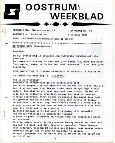 Oostrum's Weekblad 1981-10-08