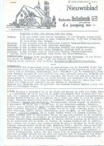 Ysselsteyns Nieuwsblad 1978-09-01