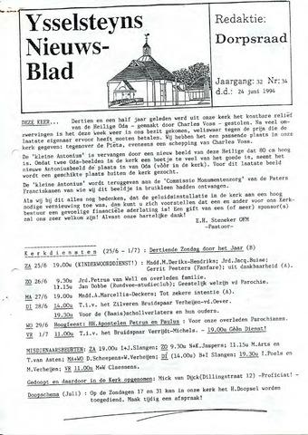 Ysselsteyns Nieuwsblad 1994-06-24