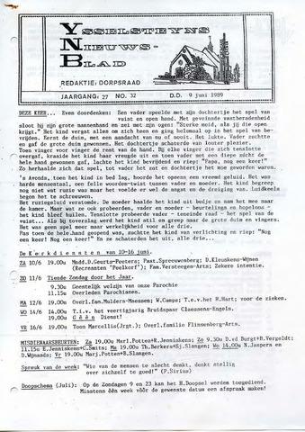 Ysselsteyns Nieuwsblad 1989-06-09