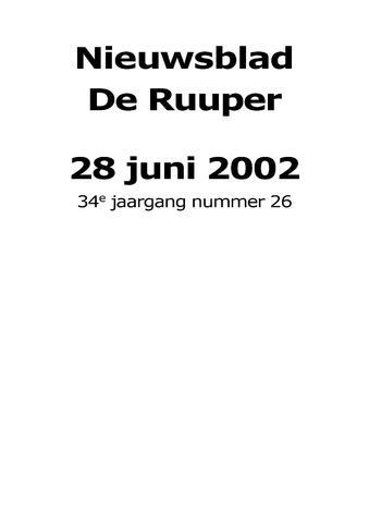 Dorpsblad Leunen-Veulen-Heide 2002-06-28