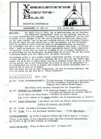 Ysselsteyns Nieuwsblad 1993-05-28